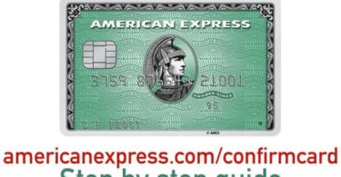 AmericanExpress confirmed Credit Card
