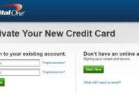 Capitalone.com [Registration And Card Activation]