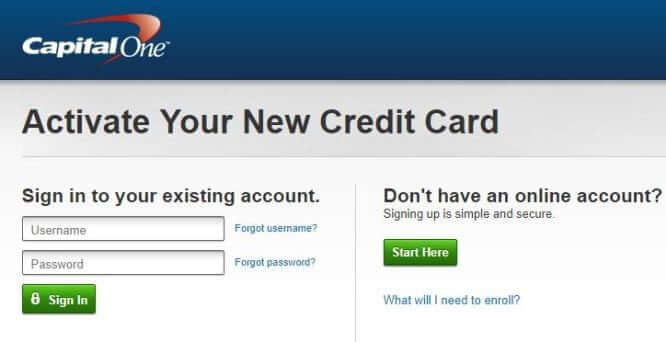 Capitalone.com [Registration And Card Activation]