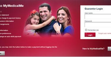 MyMedicalMe login register pay medical bills online