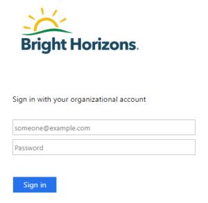 Mybrightweb.brighthorizons.com login