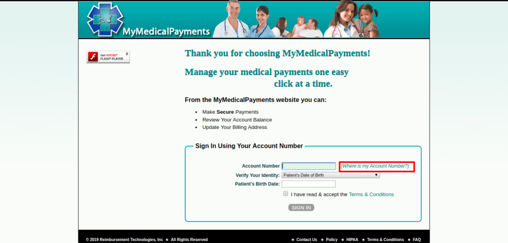 Mymedicalpayments.com register