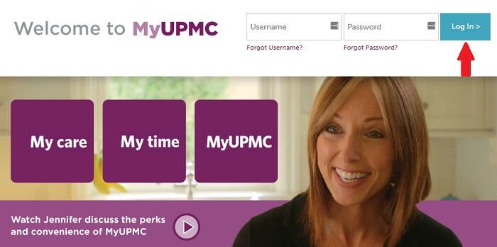 Myupmc.upmc.com Login