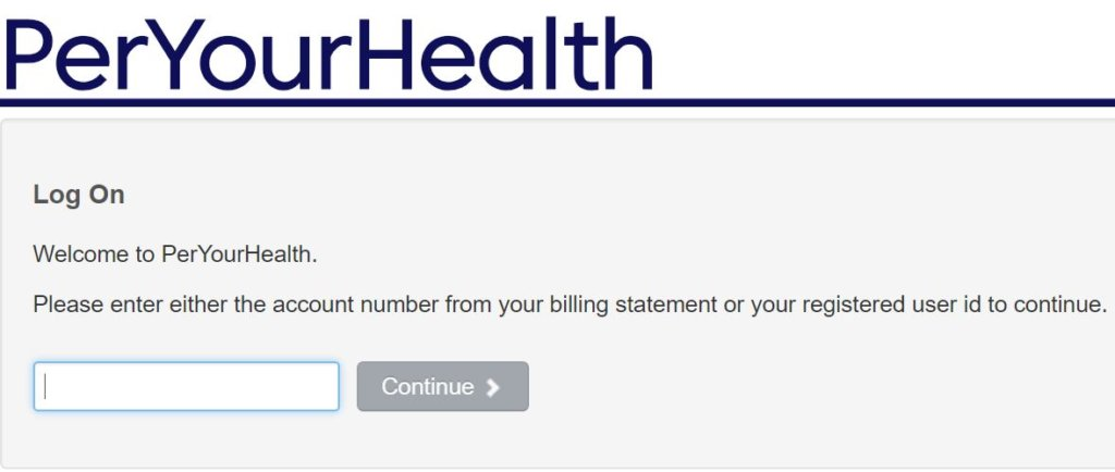 peryourhealth.com login