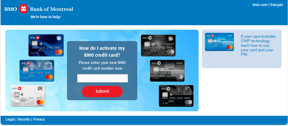 Bmo.com activate Activate Your BMO Credit Card