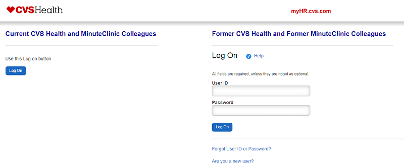 MyHR CVS Login - CVS Health