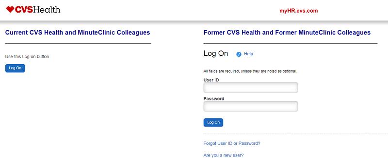 MyHR CVS Login - CVS Health