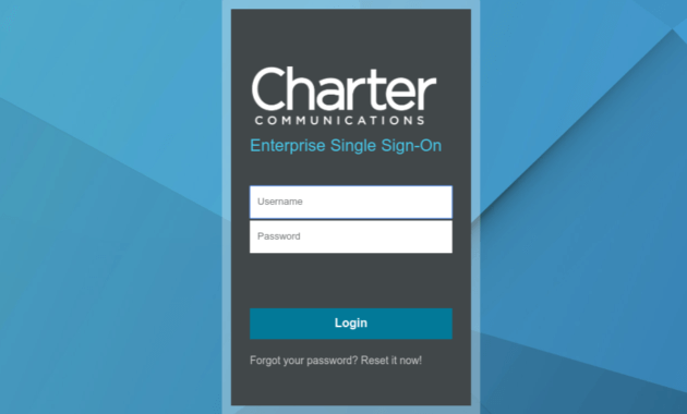 Panorama Charter Login Process