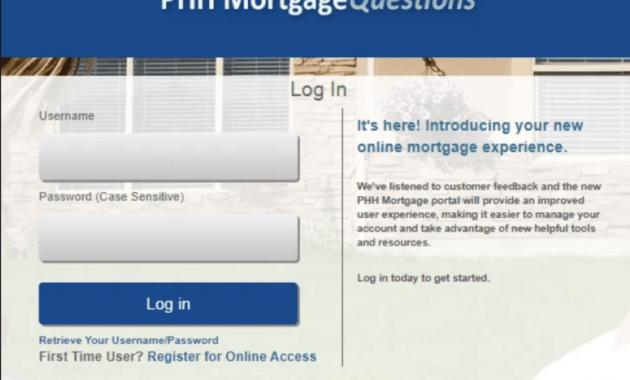 Mortgagequestions [phh Login, Phone number, Signup]