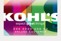 My Kohl's Charge