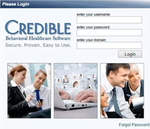 Credible BH Login Portal