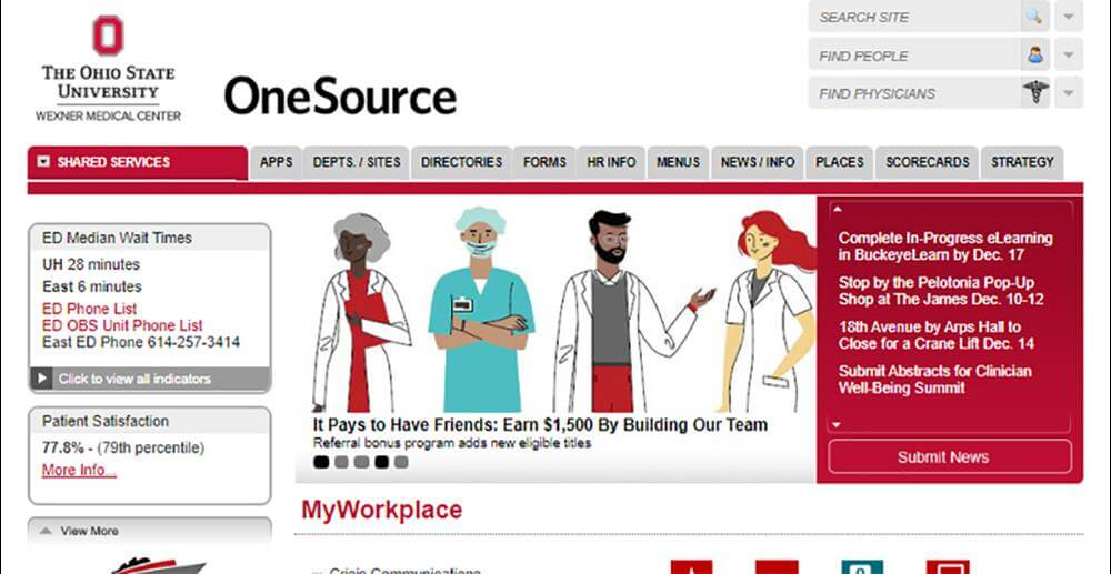 One Source Login Guide – OSU Employee Sign in