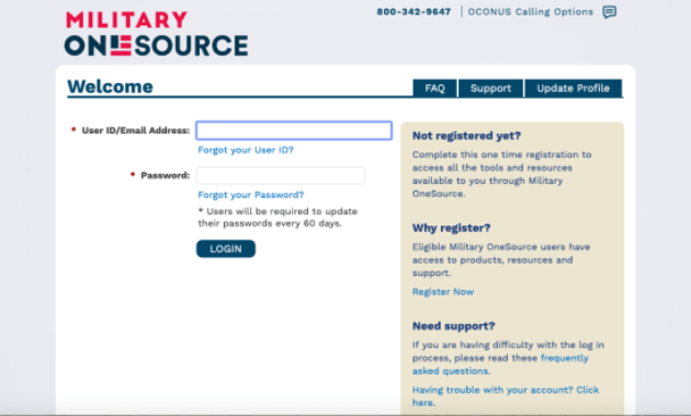 OneSource Login Process