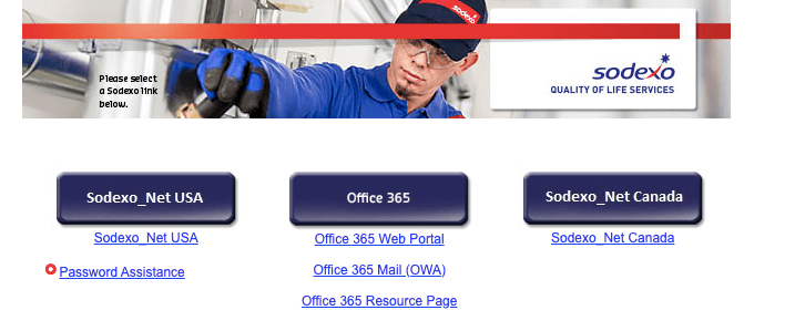 Sodexo Portal [Login, Registration, Email]