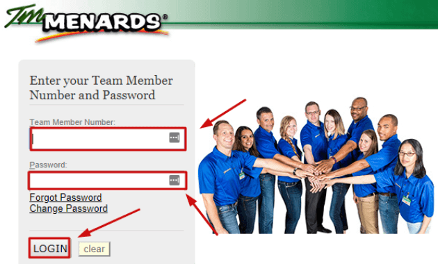 TM Menards Portal Login