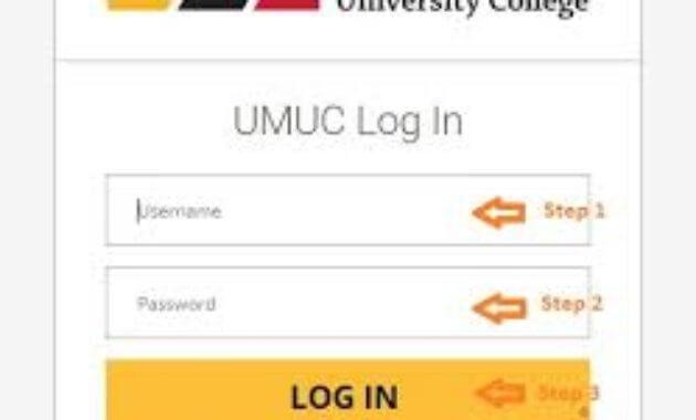 UMUC Login Process