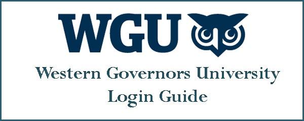 WGU Student Portal Login from PC
