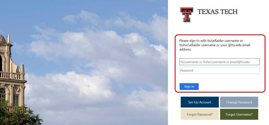 Blackboard Texas Tech University Login