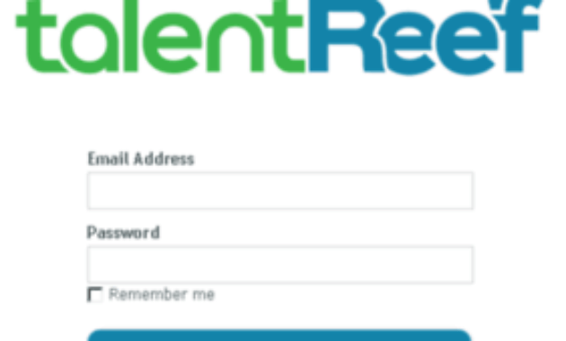 Talentreef login process